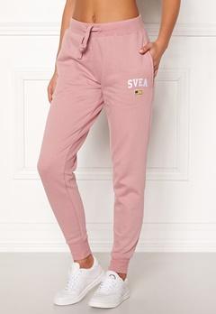 Svea Maj Sweat Pants 526 Dusty Pink Bubbleroom.eu