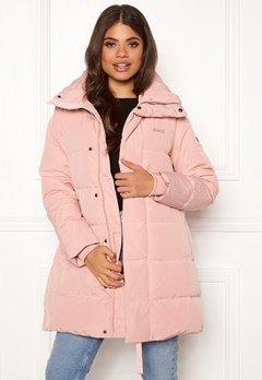 Svea Slim Fit Padded Jacket 505 Soft Pink Bubbleroom.eu