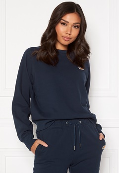 Svea W.Mini Flag Badge Sweat 600 Navy Bubbleroom.eu