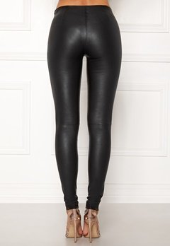 SELECTED FEMME Sylvia Leather Legging Black Bubbleroom.eu