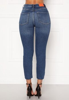 the Odenim O-Crop Jeans 02 Midblue Bubbleroom.eu