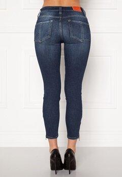 the Odenim O-Swee Jeans 09 DK Midblue Bubbleroom.eu
