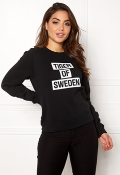 TIGER OF SWEDEN Eriika Sweat Black Bubbleroom.eu