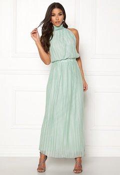 VILA Tippy S/L Maxi Dress Blue Haze Bubbleroom.eu