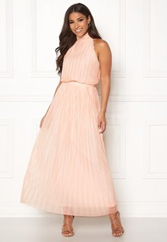 VILA Tippy S/L Maxi Dress Silver Peony Bubbleroom.eu