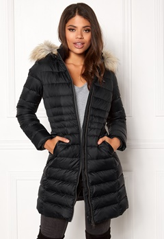 TOMMY JEANS Basic Down Coat Black Beauty Bubbleroom.eu