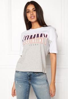 TOMMY JEANS T-shirt S/S 21 Bright White Bubbleroom.eu