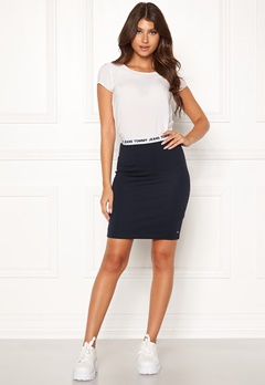 TOMMY JEANS Bodycon Skirt CBK Black Iris Bubbleroom.eu