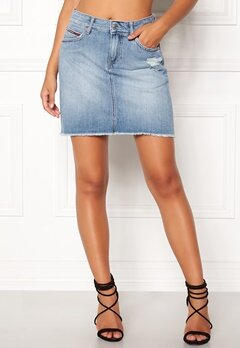 TOMMY JEANS Denim Skirt 911 Bleep Light Blue Bubbleroom.eu