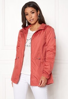 TOMMY JEANS Essential Jacket 689 Spiced Coral Bubbleroom.eu