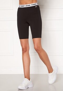 TOMMY JEANS Legging Short BDS Black Bubbleroom.eu