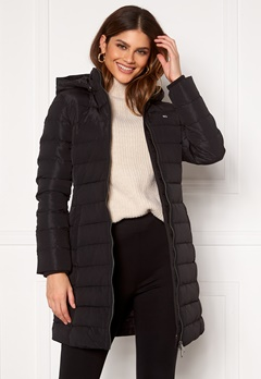 TOMMY JEANS Quilted Down Coat BDS Black Bubbleroom.eu