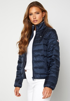 TOMMY JEANS Quilted ZipThrough Twilight Navy Bubbleroom.eu