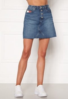 TOMMY JEANS Short Denim Skirt BTN Fly 1A5 Save PF Mid Blue Bubbleroom.eu