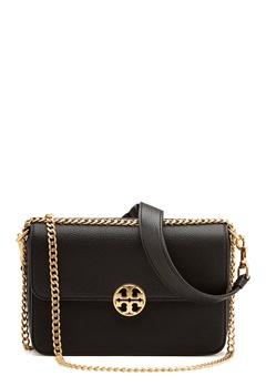 TORY BURCH Chelsea Convertible Bag Black Bubbleroom.eu
