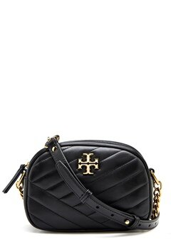 TORY BURCH Kira Chevron Camera Bag Black Bubbleroom.eu