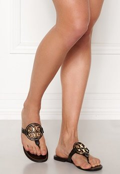 TORY BURCH Miller Metal Sandal 013 Black /Gold Bubbleroom.eu
