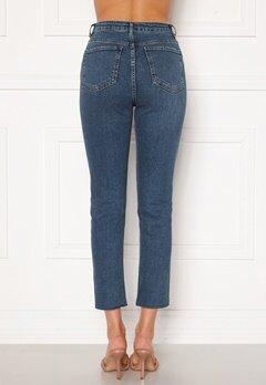 Trendyol High Waist Ankle Jeans Mavi/Blue Bubbleroom.eu