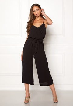 OBJECT Tribbiani S/L Jumpsuit Black Bubbleroom.eu