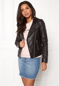 Twist & Tango Amanda Leather Jacket Black Bubbleroom.eu