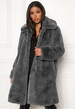 Twist & Tango Birgit Faux Fur Coat Dove Bubbleroom.eu