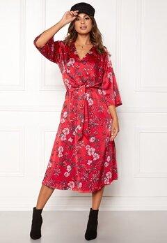 Twist & Tango Maxine Dress Red Flower Bubbleroom.eu