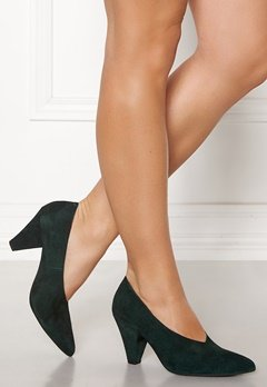 Twist & Tango Rio Leather Heels Blackish Green Bubbleroom.eu