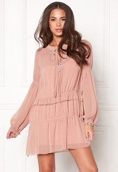 Twist & Tango Sage Dress Warm Pink Bubbleroom.eu