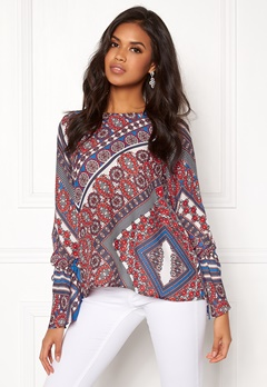 Twist & Tango Tonia Blouse Blue Graphic Bubbleroom.eu