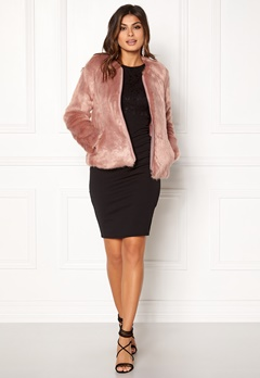 Twist & Tango Viola Faux Fur Jacket Rose Bubbleroom.eu