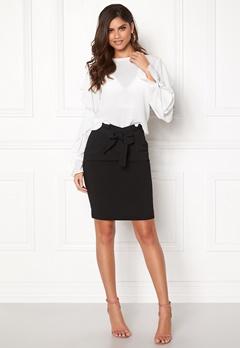 ICHI Udele Skirt Black Bubbleroom.eu