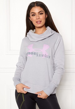 Under Armour Cotton Sports Logo Hoodie 013 Stealth Gray Bubbleroom.eu