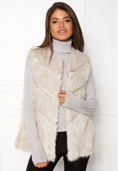 Urban Mist Faux Fur Panel Swing Creme Bubbleroom.eu