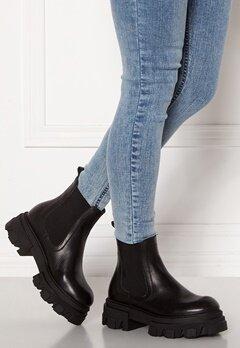 VAMSKO Molly Leather Boots Black Bubbleroom.eu