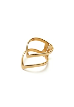 WOS Vanessa Ring Gold Bubbleroom.eu