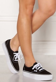 Vans Authentic Platform Black Bubbleroom.eu