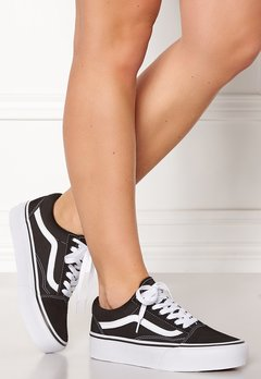 Vans Old Skool Platform Black/White Bubbleroom.eu