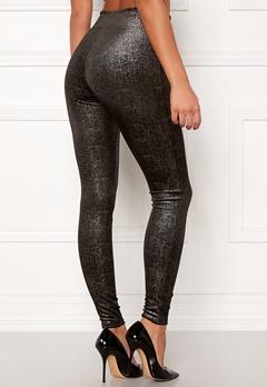 Spanx Velvet Leggings Black/Gold Bubbleroom.eu