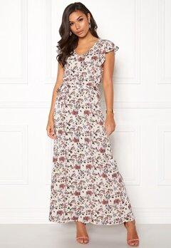 ICHI Vera Dress 10132 Pristine Print Bubbleroom.eu