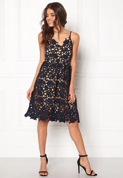 VERO MODA Beauti s/l Lace Dress Navy Blazer Bubbleroom.eu
