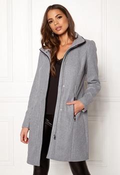VERO MODA Bessy Class Wool Jacket Light Grey Melange Bubbleroom.eu