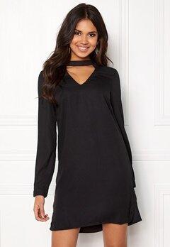 VERO MODA Chiara LS Choker Dress Black Bubbleroom.eu