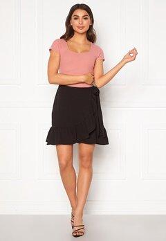 VERO MODA Cita Bobble Wrap Skirt Black Bubbleroom.eu