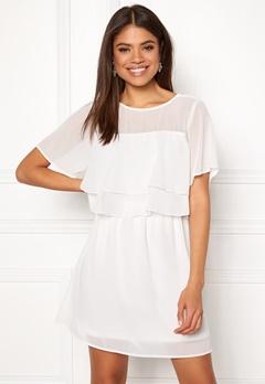 VERO MODA Dora SS Short Dress Snow White Bubbleroom.eu