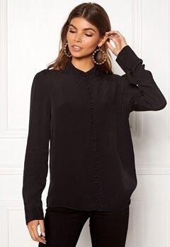 VERO MODA Ella LS Shirt Black Bubbleroom.eu