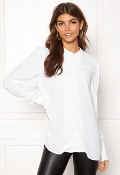 VERO MODA Ella LS Shirt Bright White Bubbleroom.eu