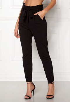 VERO MODA Eva Loose Paperbag Pants Black Bubbleroom.eu