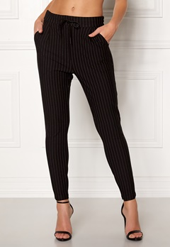 VERO MODA Eva MR Loose Pinstripe Pants Black Bubbleroom.eu