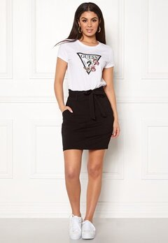 VERO MODA Eva Paperbag Short Skirt Black Bubbleroom.eu