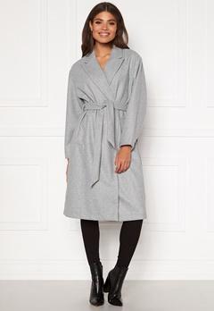 VERO MODA Fortune Long Jacket PI Light Grey Melange Bubbleroom.eu